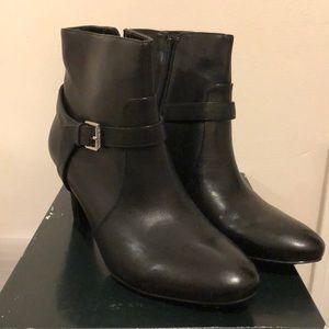 Ralph Lauren Saida Black Boots